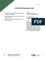 Artigo Neuron Imaginação e Supressão de Estímulo Aversivo
