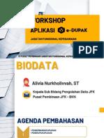 workshop aplikasi edupak