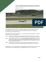 X-Plane P-180 Avanti LSGG-LSZH Tutorial Opt