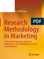 [Book] Research Methodology in Marketing