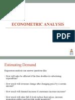 4. Econometic Analysis
