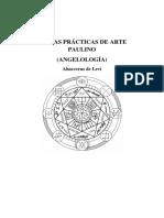 Tablas Prácticas de Arte Paulino, Ahasverus de Leví