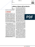 Il tartufo è cultura e futuro del territorio - Il Corriere Adriatico del 20 agosto 2019
