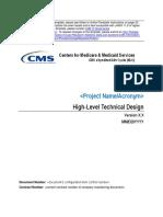HLD - Diseño de Alto Nivel Tecnico