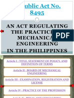 Republic Act No. 8495 (Me Law) -- Part 1