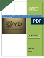 MHC Group I Dewan Distillery Report Format Ver.2-2