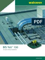 BIS Yeti 130 Support System en INT
