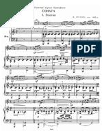 Poulenc - Oboe Sonata