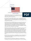 Etiquette of Displaying the Flag