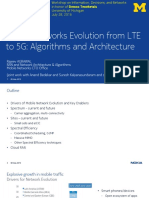 Mobile Networks Evolution From LTE to 5g Algorithms n Architecture by Nokia Ppt