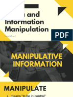 Media and Information Manipulation