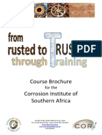 CorrISA Course Brochure JULY 2018