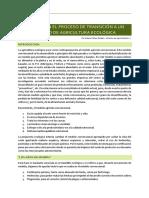 ERRORES EN EL PROCESO DE TRANSICIÓN DE UNA AGRICULTURA CONVENCIONAL A UN MODELO ECOLÓGICO