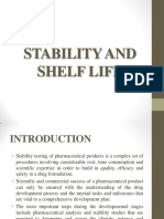 7. Stability and Shelf Life