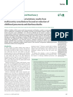 Bottlenecks, Barriers, And Solutions Results From Multicountry Consultations Focused on Reduction of Childhood Pneumonia and Diarrhoea Deaths