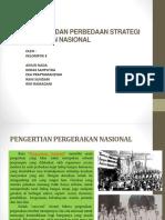 Persamaan Dan Perbedaan Strategi Pergerakan Nasional