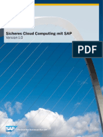 Sicheres Cloud Computing Mit SAP