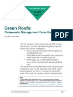 Green Roof White Paper 2001