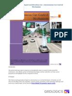 Patent Landscape Report on Driverless CA