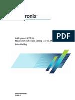 ArbExpress AXW100 Printable Help 077000013