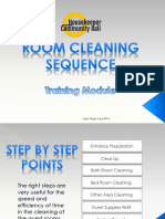 Room Cleaning Sequences