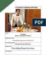 providing room service.docx