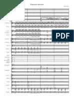 Шостакович - Народный Праздник - Full Score