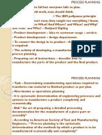 Process Planning 1