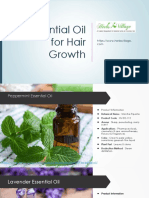 Essential Oils for Hair Growth - Herbs Village