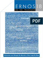 Cadernos de Literatura Em Tradução n. 18 (09.2017)