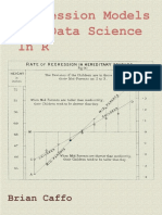 Regression Models for Data Science in R by Brian Caffo