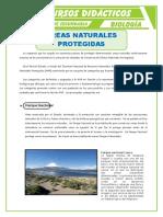 Áreas Naturales Protegidas Para Primero de Secundaria