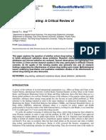 Mandatory random drug testing citical review