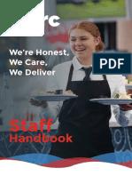 Arc Staff Handbook Aug 2019
