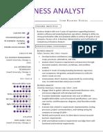 Business-Analyst  Resume