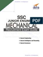 Mechanical Ssc Je Disha Publication