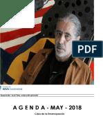 Agenda Cultural-Fundación BBVA-Mayo 2018
