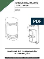 Manual de instalaçao sensor infravermelho