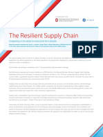 Supply Chains Competing on the Ability to Come Back From Disaster NCMM Whitepaper Supply Chain