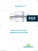 CB Eurovent REC 1-11 - Fans and System Stall - Problems and Solutions - 2007