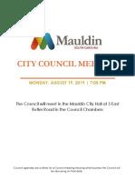 Council Meeting Agenda Rev August 19 2019