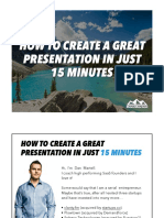 Create a top presentation