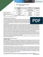 PFC Credit Rating Document