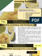 Jackfruit Processing Unit