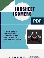 Worksheet Isomers