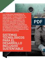 sistemas tecnológicos sustentables