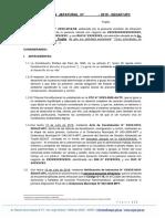 R. J. N° XXX-2019 (INICIO), G-118,