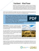 2040 windpowerfactsheet