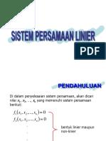 4-Sistem Persamaan Linier 2