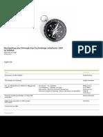Navigating You Through Tax Technology Solutions_SAP